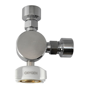 3 Way Adapter T - Oxygen