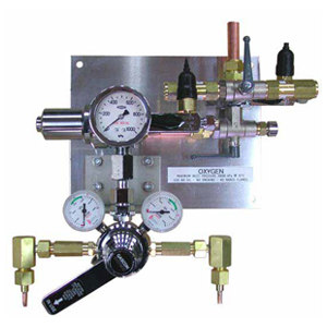 High Flow Automatic Change-Over Medical Gas Manifold